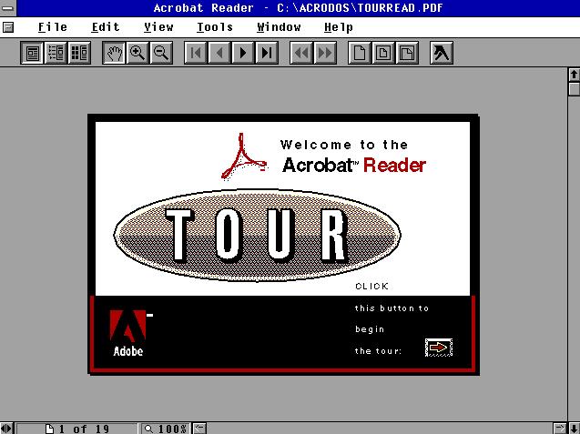 Acrobat Reader 1