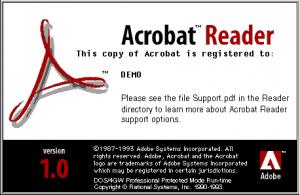 Acrobat Reader 1 Logo