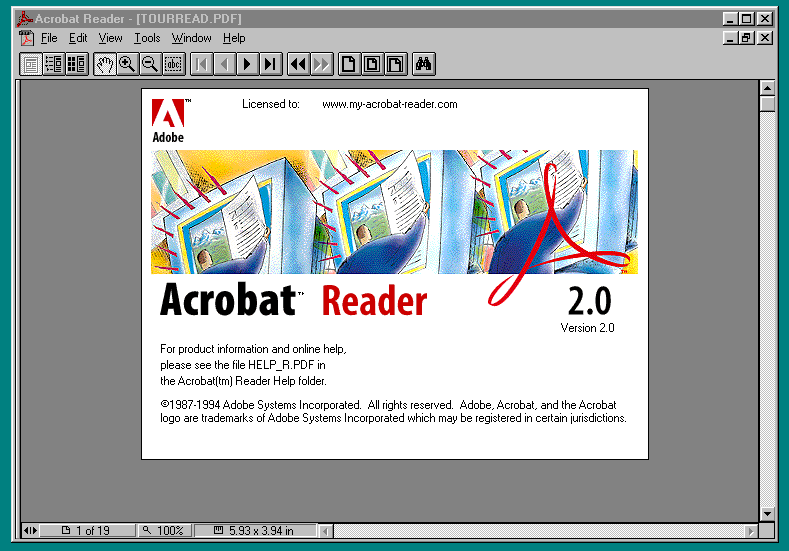 Acrobat Reader 2