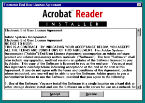Acrobat Reader 2 Install