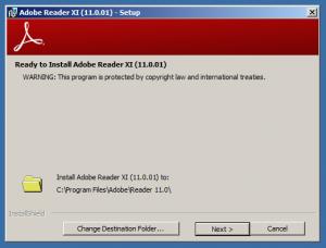 Adobe Reader 11 Install