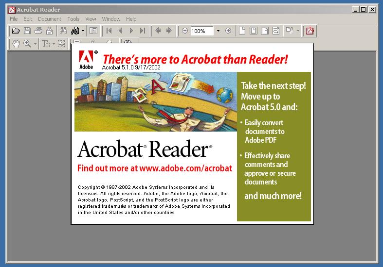 Adobe Reader 5