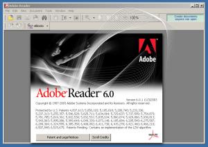 Adobe Reader 6