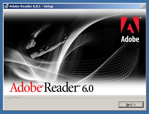 Adobe Reader 6 Install