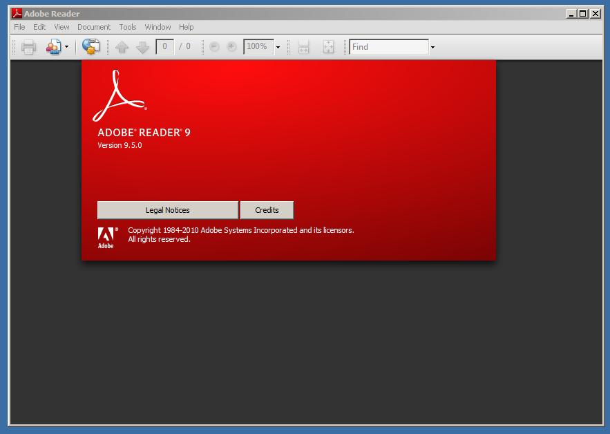 Adobe Reader 9